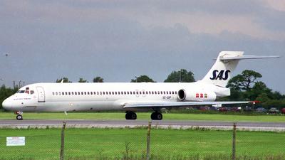 SE-DIP - McDonnell Douglas MD-87 - Scandinavian Airlines (SAS)