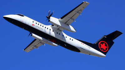 C-FRUZ - Bombardier Dash 8-311 - Air Canada Express (Jazz Aviation)