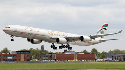 A6-EHH - Airbus A340-642X - Etihad Airways