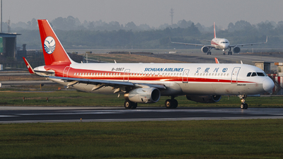 B-9967 - Airbus A321-231 - Sichuan Airlines