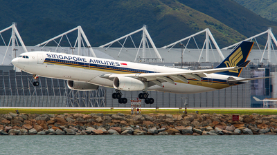 9V-STL - Airbus A330-343 - Singapore Airlines