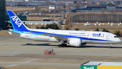 JA840A - Boeing 787-8 Dreamliner - All Nippon Airways (ANA)