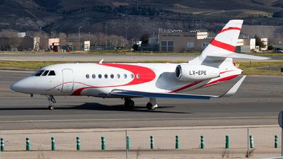 LX-EPE - Dassault Falcon 2000LX - Private