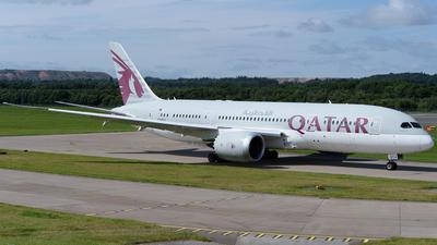 A picture of A7BCJ - Boeing 7878 Dreamliner - Qatar Airways - © Ian McGregor