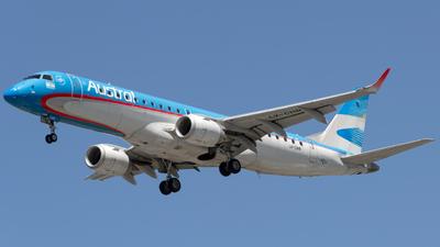 A picture of LVCHR - Embraer E190AR - Aerolineas Argentinas - © dario_spotter