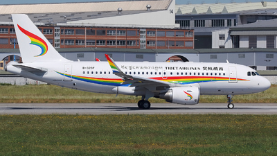 B-320F - Airbus A319-115 - Tibet Airlines