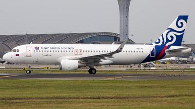 XU-761 - Airbus A320-214 - Cambodia Airways