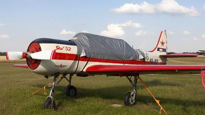 HA-JAX - Yakovlev Yak-52 - Private
