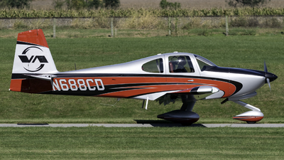 N688CD - Vans RV-10 - Private