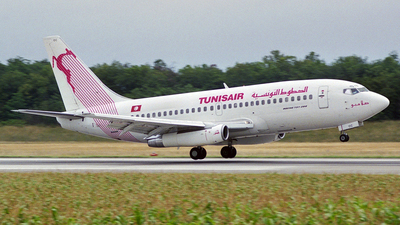 TS-IOC - Boeing 737-2H3(Adv) - Tunisair