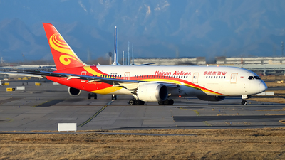 A picture of B2729 - Boeing 7878 Dreamliner - Hainan Airlines - © dxtrx