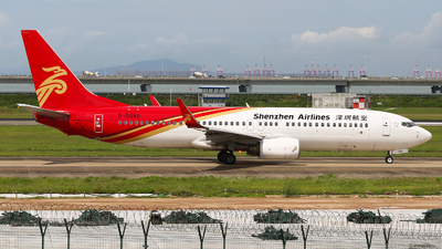 A picture of B5380 - Boeing 73787L - Shenzhen Airlines - © SEN BAI