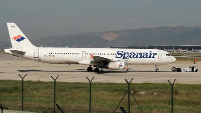 EC-HPM - Airbus A321-231 - Spanair