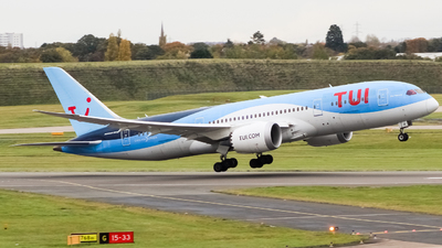 A picture of GTUII - Boeing 7878 Dreamliner - TUI fly - © Jamie PD