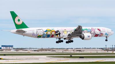 A picture of B16703 - Boeing 77735E(ER) - EVA Air - © bill wang