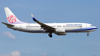 A picture of B18615 - Boeing 737809 - China Airlines - © LUSU
