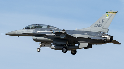 90-0787 - General Dynamics F-16DM Fighting Falcon - United States - US Air Force (USAF)