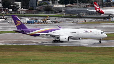 HS-THD - Airbus A350-941 - Thai Airways International