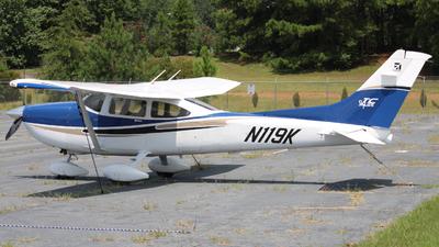 A picture of N119K - Cessna T182T Turbo Skylane - [T18208232] - © ajwebb