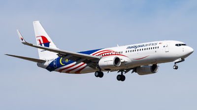 A picture of 9MMXB - Boeing 7378H6 - Malaysia Airlines - © Jonathan Chua
