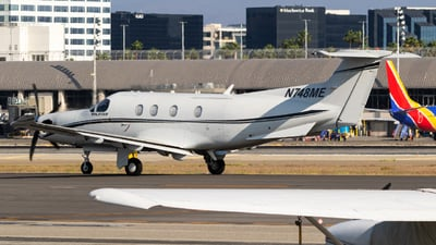 N748ME - Pilatus PC-12/47 - Private