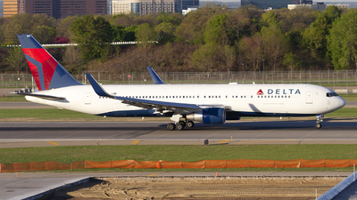 A picture of N189DN - Boeing 767332(ER) - Delta Air Lines - © Jeremy D. Dando