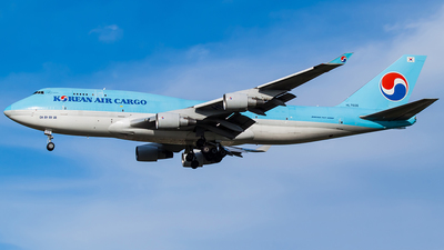 HL7606 - Boeing 747-4B5(BCF) - Korean Air Cargo