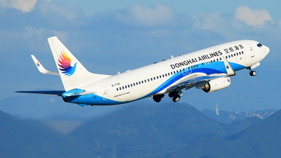 A picture of B7100 - Boeing 7378Q8 - Donghai Airlines - © RuiQi Liang