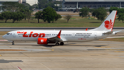 HS-LSH - Boeing 737-9 MAX - Thai Lion Air