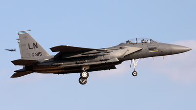 91-0315 - McDonnell Douglas F-15E Strike Eagle - United States - US Air Force (USAF)