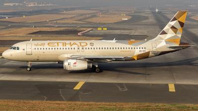 A picture of A6EIO - Airbus A320232 - Etihad Airways - © Eldridge Fernandes