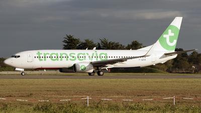 A picture of FGZHA - Boeing 7378GJ - Transavia - © Alexandre Raineau