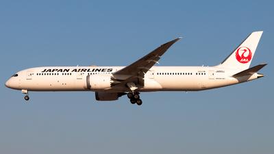 JA861J - Boeing 787-9 Dreamliner - Japan Airlines (JAL)