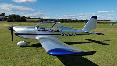 G-CEKJ - Evektor-Aerotechnik EV-97A Eurostar - Private