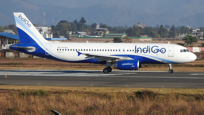A picture of VTIET - Airbus A320232 - IndiGo - © norris_haobam