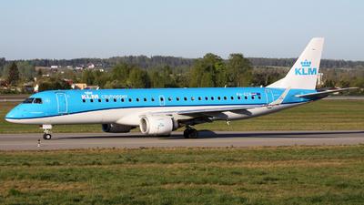 PH-EZR - Embraer 190-100STD - KLM Cityhopper