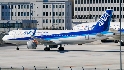 JA218A - Airbus A320-271N - All Nippon Airways (ANA)