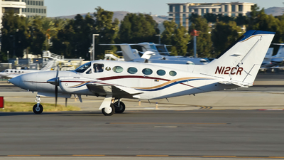 A picture of N12CR - Cessna 421C Golden Eagle - [421C0279] - © Jeff Rojas