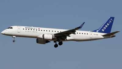 TC-YAH - Embraer 190-100LR - Bora Jet