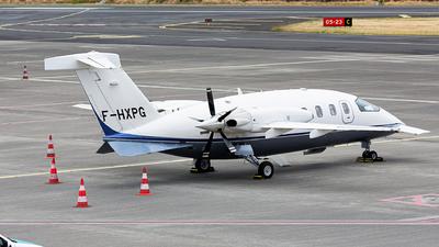 F-HXPG - Piaggio P-180 Avanti II - Oyonnair