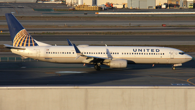 A picture of N68823 - Boeing 737924(ER) - United Airlines - © Kendrick Dlima