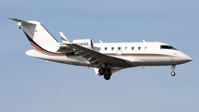 A picture of N216QS - Bombardier Challenger 650 - NetJets - © toyo_69pr