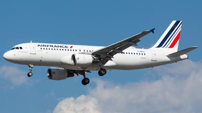 F-GKXY - Airbus A320-214 - Air France