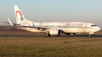 A picture of CNROA - Boeing 7378B6 - Royal Air Maroc - © Freek Blokzijl