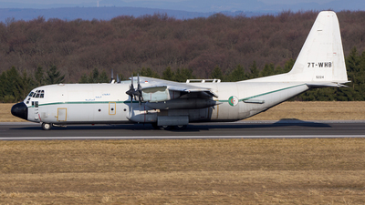 7T-WHB - Lockheed C-130H-30 Hercules - Algeria - Air Force