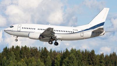 A picture of T7CTA - Boeing 7375L9 - [28996] - © Sebastian E Burmo
