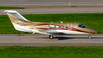 N445VL - Hawker Beechcraft 400XP - Private