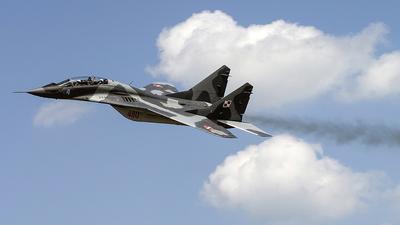 4110 - Mikoyan-Gurevich MiG-29UB Fulcrum - Poland - Air Force