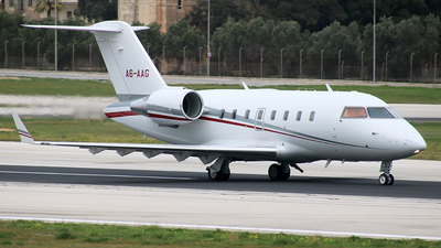 A6-AAG - Bombardier CL-600-2B16 Challenger 605 - Private