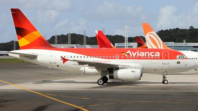 PR-ONG - Airbus A318-121 - Avianca Brasil